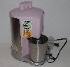 "MBA #3535-451   ""2005 Waring Pro Pink Profession Quailty Juice Extractor"""