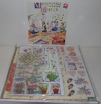 "MBA #3535-488   2004 Memories Direct 7000 Piece Scrapbooking Set ""Green"""