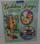 "MBA #3535-207   ""2003 Golden Days Stained Glass Pattern Book"""