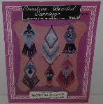 "MBA #3535-250   ""1991 Creative Beaded Earrings Vol #2 Veon Creations"""