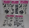 "MBA #3535-0034   ""1999 Set Of 5 Tulip Stick-Ease Stencils"""