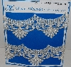"MBA #3636- #E  ""1990's 2 Yards Of Fancy White Lace Trim"""