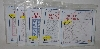 "MBA #3636-475   ""2003 Jack Dempsey Needle Art Set Of 5 Packls 18"" X 18"" Quilt Squares"""