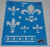 "MBA #3636-496   ""1996 Plaid Fleur-de-Lis Collection"""