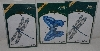 """SOLD"" MBA #3636-344   ""2001 Set Of 3  American Traditional Three Part Overlay Stencils"""