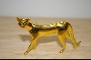 1986 Brass Franklin Mint Collectible Cat