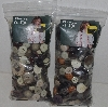 "MBA #3636-411   ""1990's Set Of 2 Bags Of Dress It Up Buttons"""