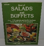 "MBA #3636-0068   ""1983 HP Books Best Of Salads & Buffets Paper Back Cook Book"""