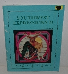 "MBA #3636-156   ""1994 Southwest Expressions II Stained Glass Pattern Book By Gloria Fohr"""