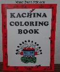 "MBA #3838-0038   ""1982 Kachina Coloring Book""By Connie Asch"