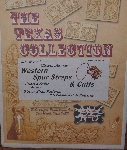 """SOLD""  MBA #3939-174   ""Bob Moline's Western Art Series ""The Texas Collection"" Tracing & Tooling Patterns"""
