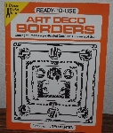 "MBA #3939-225  ""1979 Ready To Use Art Deco  Borders By Ted Menton"" Paperback"