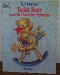 "MBA #3939-0067   ""1983 Teddy Bear Iron Transfers By Ted Menten"" Paper Back"
