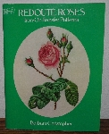 "MBA #3939-237   ""1982 Redoute Roses Iron On Transfer Patterns"" By Barbara Christopher"