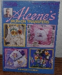 "MBA #4040-132   ""1996 Aleene's Iron On Transfers Leeflet #1691"" Large Paper Back Book"