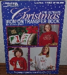 "MBA #4040-141  ""1997 The Ultimate Christmas Iron On Transfer Book By Anne Fetzer"" Leaflet #1720"