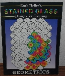 "MBA #4040-189   ""1998 Geometrics Stained Glass Coloring Book"" By Ruth Heller"