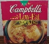 "MBA #4040-0031   ""1995 Campbell's Low Fat Cooking"" Paper Back"