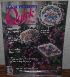 "MBA #4040-0051   ""1990 Cross  Stitch Quick & Easy"" Paper Back"