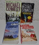 "MBA #5600-375  ""Set Of 4 Michael Connelly ""Mickey Haller The Lincoln Lawyer Series"" Paper Back Books"""
