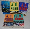 "MBA #5602-0002  ""Set Of 5 J.D. Robb ""Eve Dallas Series"" Paper Back Books"""