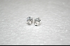"Charles Winston 1ct Hugs & Kisses ""X&O"" CZ Pierced Earrings"