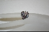 **Nancy Nelson Crystal Leaf Ring