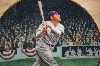 **Babe Ruth : The Called Shot By Artist Brent Benger