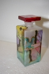 Made In Italy Hand Painted Perfume Bottle