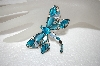 **MBA #17-409  Monet Blue Dragonfly Pin