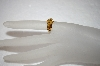 14K Marquise & Princesss Cut Citrine Ring
