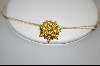 14kt Citrine & Diamond Flower Pin/Pendant