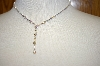 **MBA #17-492  Kirks Folly AB Crystal Drop Necklace