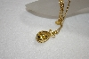 "**MBA #19-204  Joan Rivers Golden Egg Pendant With 32"" Chain"