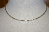 "**MBA #19-076  Sterling 16"" Omega Necklace"
