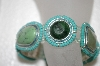 **MBA #20-489  Liz Claiborne Stone Stretch Bracelet & Matching Earrings