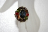 **MBA #20-057Sweet Romance Multi Colored Stone Ring
