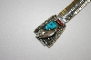 """SOLD""  Men's Blue Turquoise, Coral & Bear Claw Watch Band"