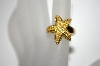 Vermeil Citrine Starfish Ring