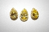 **MBA #21-165  Designer Made Pear Cut CZ Pendant & Earring Set