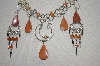 Peruvian Jasper Necklace & Matching Earrings