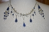 Peruvian Blue Sodalita Necklace & Earrings