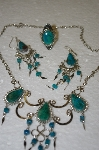 Peruvian Blue/Green Turquoise Set