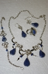 Peruvian Blue Sodalita 4 Piece Set