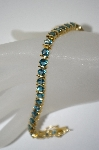 18K Vermeil London Blue Topaz Bracelet
