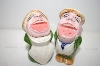 Vintage Singers Salt & Pepper Shakers