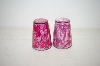 Vintage Pink Small Salt & Pepper Shakers