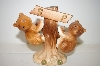 Vintage Brown Bears On A Tree Salt & Pepper Shakers