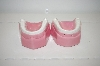 1981 Pink Teeth Salt & Pepper Shakers