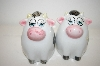 "Vintage ""Cows"" Salt & Pepper Shakers"